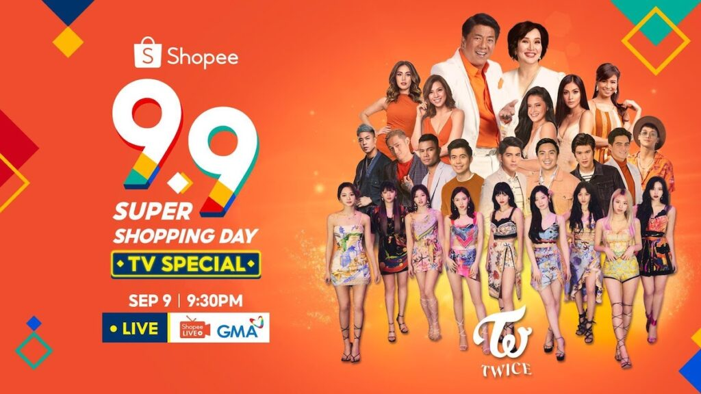 Shopee 9.9 Super Shopping Day TV Special
