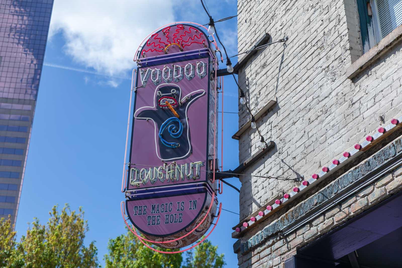 Voodoo Doughnut in Portland Oregon
