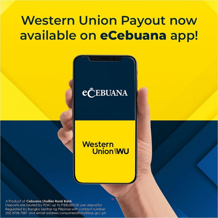 Cebuana Lhuillier partners with Western Union to bring Digital Money Transfer Services in PH